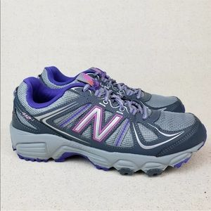 New Balance All Terrain Gray Purple Trail Shoes